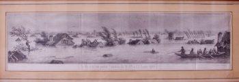 Le Val de la Loire pendant l'inondation, les 21, 22 et 23 Octobre 1846